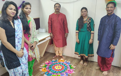 Diwali Celebration at Netrika